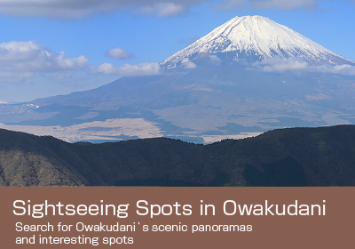 Sightseeing Spots in Owakudani